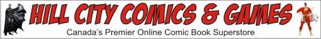 Hill City Comics & Games Banner